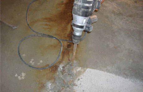 Scheuren waterdicht maken